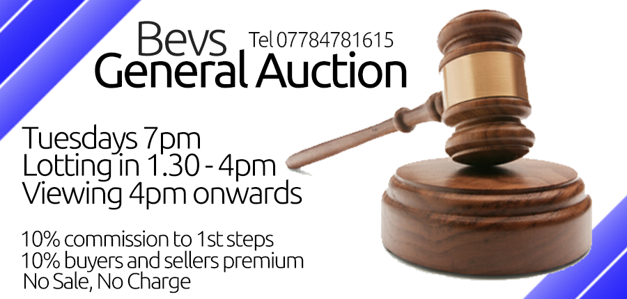 bevs auction at club chesterfield