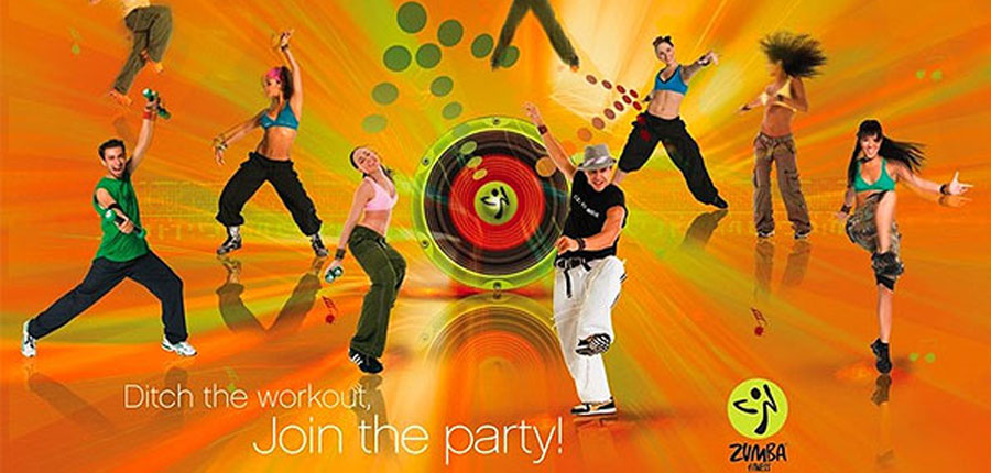 zumba at club chesterfield